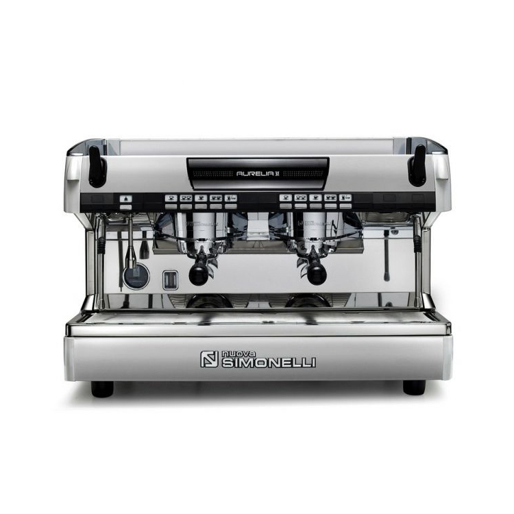 Кофемашина Nuova Simonelli Aurelia II 2Gr V  pearl white+LED+high group